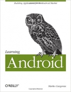 Book Learning Android 1st Edition free