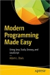 Book Modern Programming Made Easy: Using Java, Scala, Groovy, and JavaScript free