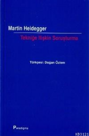 Download Tekniğe İlişkin Soruşturma free book as pdf format