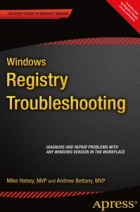 Book Windows Registry Troubleshooting free