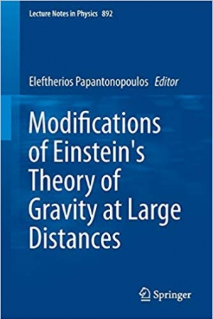 Download Modifications of Einstein's Theory of Gravity at Large Distances free book as pdf format