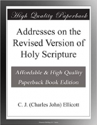 Book Addresses on the Revised Version of Holy Scripture free