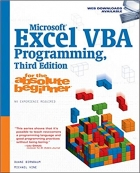 Book Microsoft Excel VBA Programming for the Absolute Beginner, 3rd Edition free