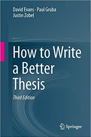 Download How to Write a Better Thesis free book as pdf format