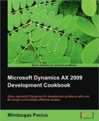 Book Microsoft Dynamics AX 2009 Development Cookbook free