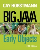 Book Big Java: Early Objects, 5th Edition free