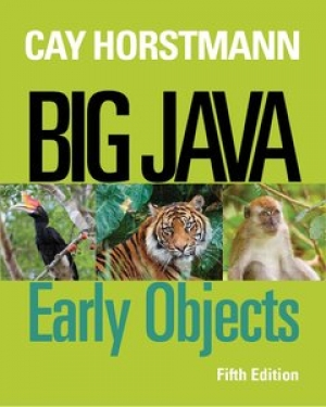 Download Big Java: Early Objects, 5th Edition free book as pdf format