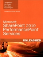 Book Microsoft SharePoint 2010 PerformancePoint Services Unleashed free