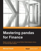 Book Mastering Pandas for Finance free