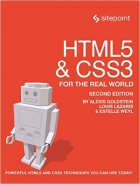 Book HTML5 & CSS3 For The Real World, 2 Edition free