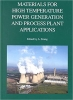 Book Materials for High Temperature Power Generation and Process Plant Applications free