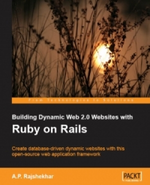 Download Building Dynamic Web 2.0 Websites with Ruby on Rails free book as pdf format