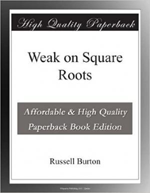 Download Weak on Square Roots free book as epub format