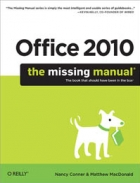 Book Office 2010: The Missing Manual free