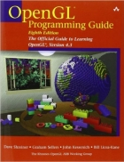 Book OpenGL Programming Guide, 8th Edition free