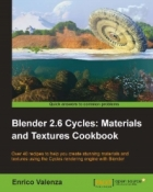 Book Blender 2.6 Cycles: Materials and Textures Cookbook free