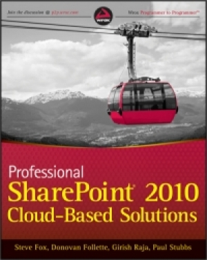 Download Professional SharePoint 2010 Cloud-Based Solutions free book as pdf format
