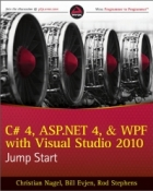 Book C# 4, ASP.NET 4, and WPF, with Visual Studio 2010 Jump Start free
