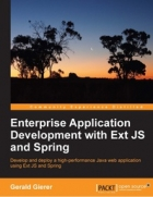 Book Enterprise Application Development with Ext JS and Spring free