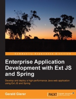 Download Enterprise Application Development with Ext JS and Spring free book as pdf format