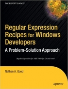 Book Regular Expression Recipes for Windows Developers free