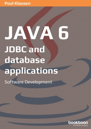 Download Java 6: JDBC and database applications free book as pdf format