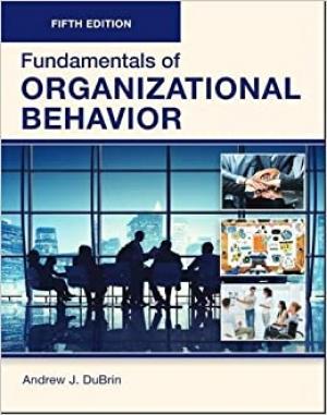 Download Fundamentals of Organizational Behavior free book as pdf format