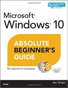Book Windows 10 Absolute Beginner's Guide free