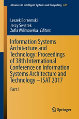 Download Information systems architecture and technology _ proceedings of 38th International Conference on Information Systems Architecture and Technology -- ISAT 2017. Part II free book as pdf format