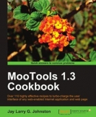 Book MooTools 1.3 Cookbook free