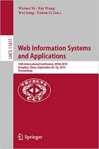 Book Web Information Systems and Applications: 16th International Conference, WISA 2019, Qingdao, China, September 20-22, 2019, Proceedings (Lecture Notes in Computer Science Book 11817) free