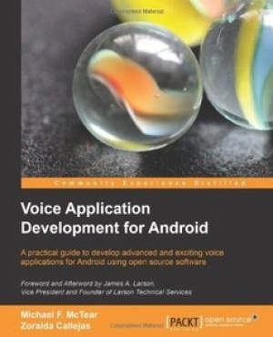 Download Voice Application Development for Android free book as pdf format