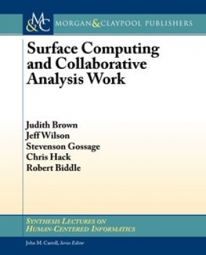 Download Surface Computing and Collaborative Analysis Work free book as pdf format