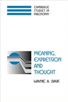 Meaning, Expression and Thought