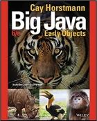 Book Big Java: Early Objects, 6th Edition free