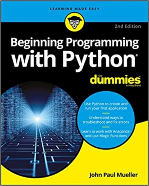 Download Beginning Programming with Python For Dummies free book as pdf format