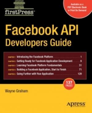 Download Facebook API Developers Guide free book as pdf format