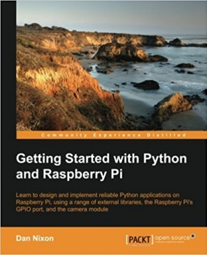 Download Getting Started with Python and Raspberry Pi free book as pdf format