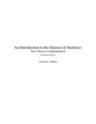 Book An Introduction to the Science of Statistics: From Theory to Implementation, Preliminary Edition free