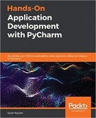 Book Hands-On Application Development with PyCharm: Accelerate your Python applications using practical coding techniques in PyCharm free